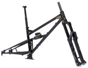 Heat Treated Steel Full Suspension Mountain Bike