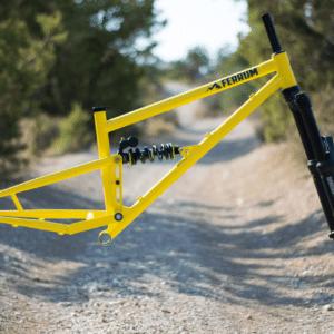 best steel full suspension mountain bike frame mtb trail bike