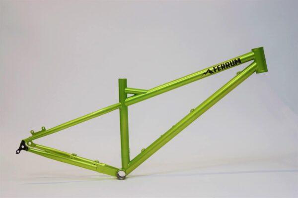Steel 29er hardtail frame