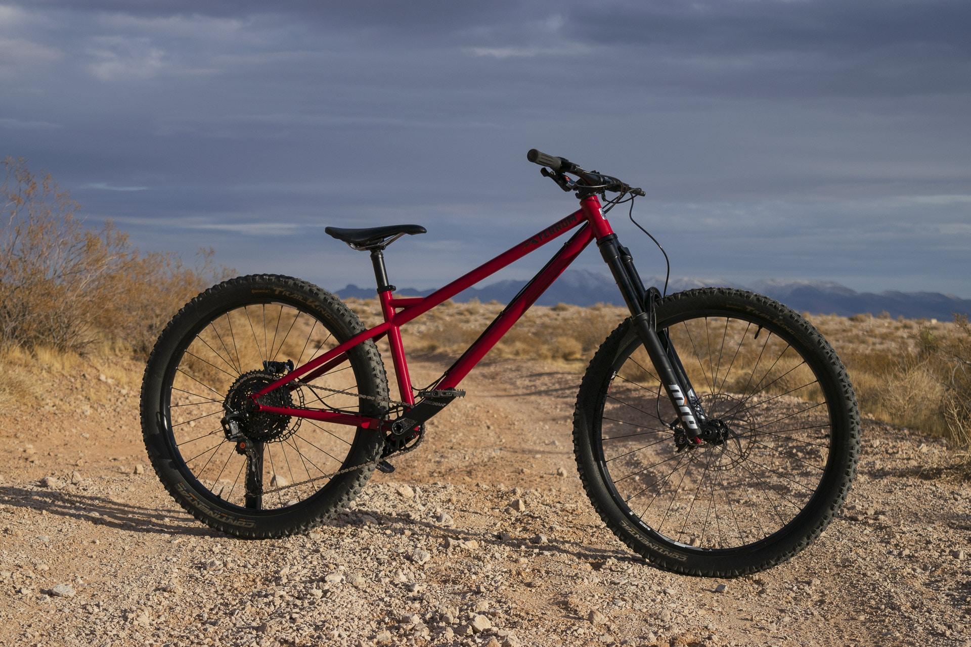 Steel Frame Hardtail Mountain Bike