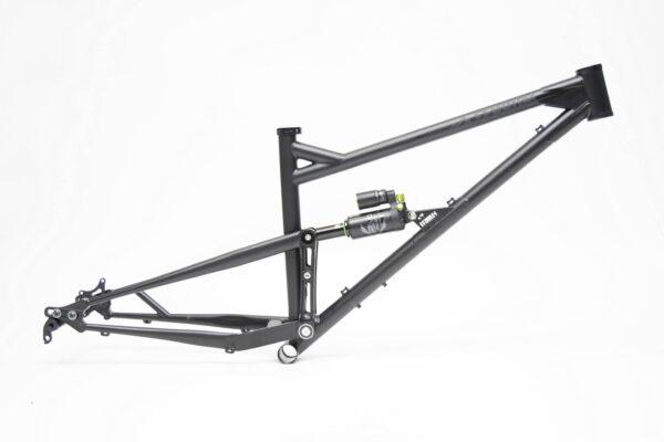 Chromoly Full Suspension Mountain Bike LV145 Rear Travel Frame