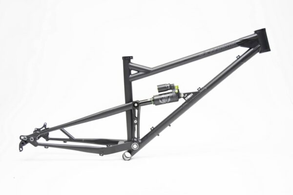 Chromoly Full Suspension Mountain Bike