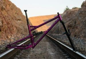Ferrum Bikes Full Suspension Steel Mountain Bike Build Kit