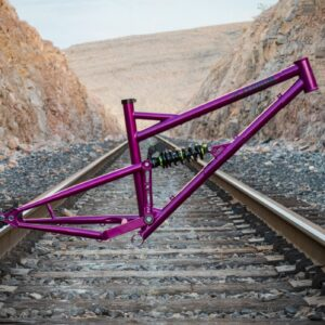 best full suspension chromoly steel mountain bike