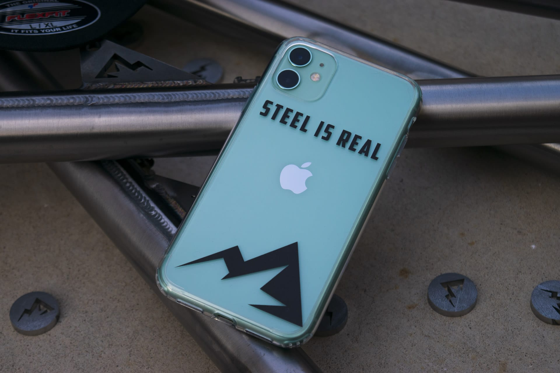 Steel Is Real Phone Case Steel Full Suspension