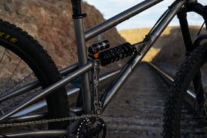 Raw Steel Full Suspension Mountain Bike