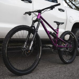 Chromoly Chromoly Steel Full Suspension Steel Frame MChromoly Full Suspension Steel Frame Mountain Bikeountain BikeFull Suspension Steel Frame Mountain Bike