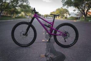 Steel Full Suspension Trail Bike