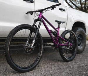 Chromoly Steel Full Suspension Trail Mountain Bike